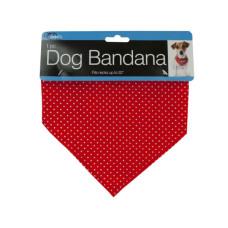 Polka Dot Dog Bandana with Snap Closure