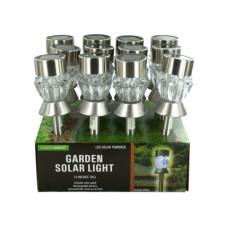 Crystal Effect Solar Power Garden Light Countertop Display