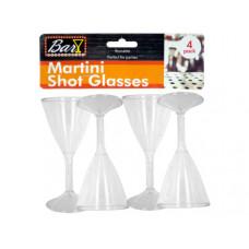 Plastic Martini Shot Glasses