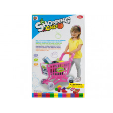 Toy Grocery Shopping Cart Set