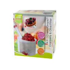 4 in 1 Cherry/Grape/Cranberry & Olive Pitter