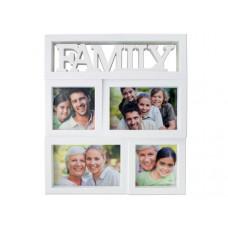 Family Rectangular Photo Collage Frame