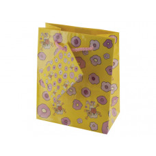 Small Rabbits & Flowers Gift Bag