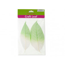 Dyed Natural Craft Leaves