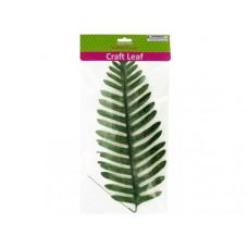 Tropical Craft Leaf with Wire Stem