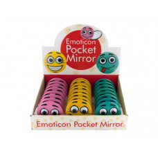 Emoticon Pocket Mirror Countertop Display