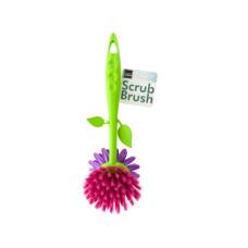 Flower Shape Dish Scrub Brush