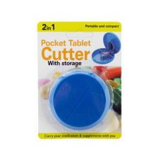 2 in 1 Pocket Tablet Cutter with Storage