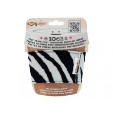 Zebra Kozy Cuff Felt Beverage Sleeve