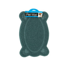 Easy Clean Paw Print Pet Mat