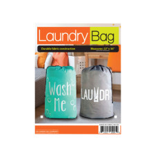Large Printed Drawstring Laundry Bag