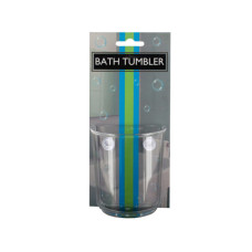 Bath Tumbler with Suction Cups