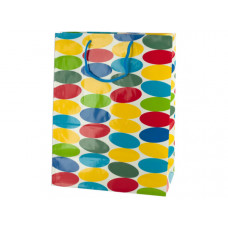 Large Multi-Colored Dots Gift Bag