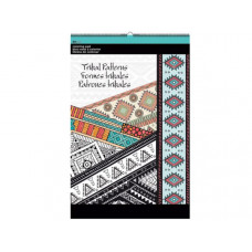 Tribal Patterns Large Coloring Pad