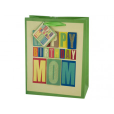 Medium Block Letter Birthday Gift Bag