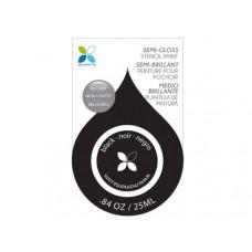 Black Semi-Gloss No Drip Stencil Paint