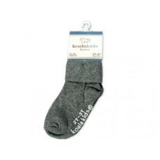 Koala Kids Basic Grey Baby Socks 2 - 3 Years of Age