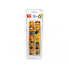 Minions 4 Pack Slap Bracelets