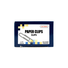 """1.25"""" Paper Clips 100 Count"""
