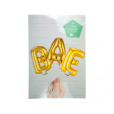 """Bae"" Balloon Cake Topper"