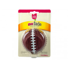 24 Count Betty Crocker Standard Size Football Baking Cups