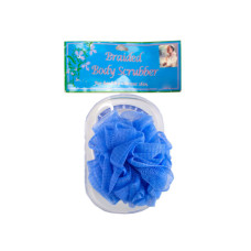 Body Scrubber with Tray in Assorted Colors