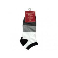 Ladies Ankle Socks 9-11 Assorted Colors