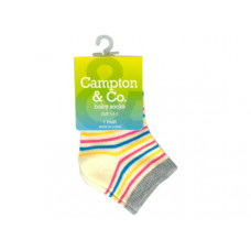 Baby Socks 4.5-5 Assorted Colors