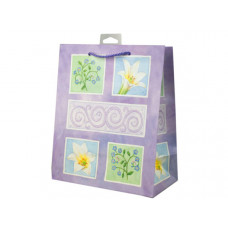Lavender Flowers Medium Gift Bag