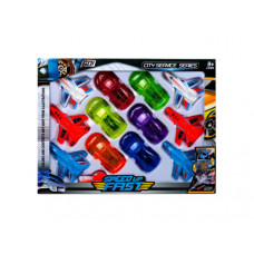 12 Pack Car and Jet Play Set