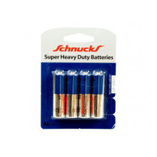 AA Super Heavy Duty Batteries in Blister Pack of Four