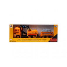 Assorted Friction Construction Trucks