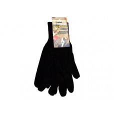 Universal Size General Brown Jersey Working Gloves