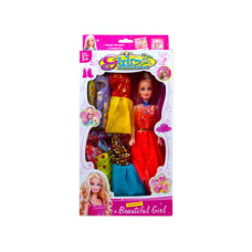 """11.5"""" Fashion Doll with Outfits"""