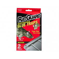RatGuard 2 Pack Disposable Glue Traps in PDQ Display