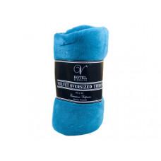 "80"" x 60"" Oversized Velvet Throw Blanket in Assorted Colors"