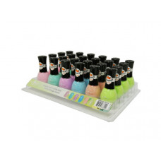 Orange Scented Nail Polish Assorted Colors in Display