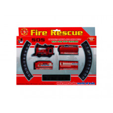 Battery Operated Firefighter Train with Rails