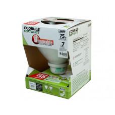 EcoBulb Dimmable Soft White 75 Watt Equivalent CFL Light Bul