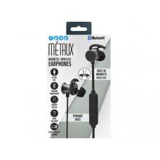 iPop Metaux Black Sport Bluetooth Earphones with Case