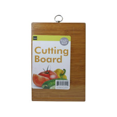 Rectangle Wood Cutting Board With Hanging Loop Hook