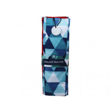 Geometric Set of 4 Insulated Wine Totes
