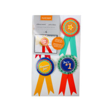 4 Count Ribbon Awards Set