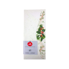 40 Count Holly Envelopes
