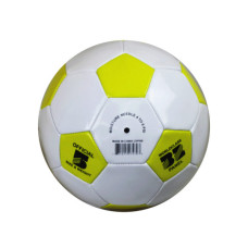Size 5 Yellow & White Soccer Ball