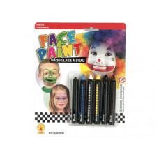 6pc Face Paint Sticks Set