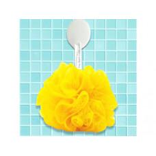 Yellow Mesh Net Body Sponge
