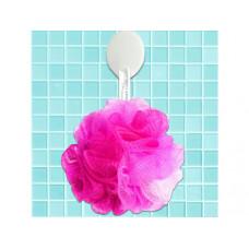 Hot Pink Mesh Net Body Sponge