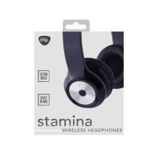 iHip STAMINA Bluetooth Over the Ear Headphones