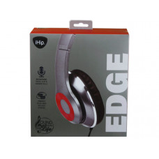 iHip EDGE Noise Isolating Over the Ear Headphones